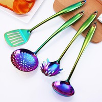 Colorful Kitchen Cooking Utensils