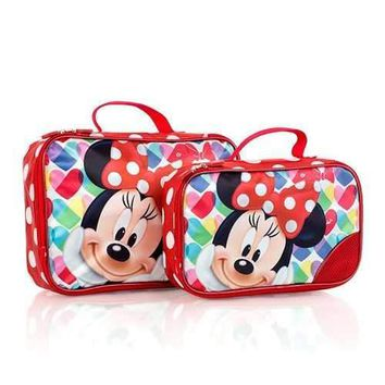 Disney Minnie Mouse 2 Piece Packing Cube Set
