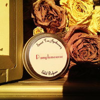 Pamplemousse Solid Perfume Oil - Grapefruit, Ginger, White Tea, Honey