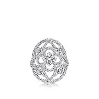 Products by Louis Vuitton: Les Ardentes Disc ring with Louis Vuitton cut diamond