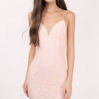 Alice Plunging Lace Bodycon Dress