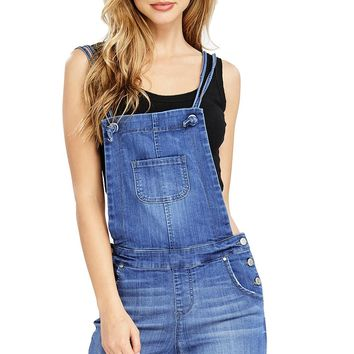 Dawn Denim Shortalls