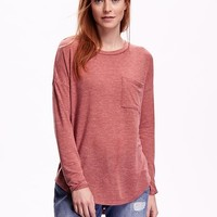 Old Navy Oversized Rounded Hem Top