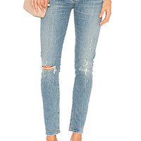 Citizens of Humanity Racer Low Rise Skinny in Distressed Encore | REVOLVE