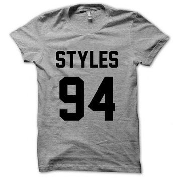 One Direction Shirt Harry Styles Shirt Logo Unisex T-Shirt Tee Size S,M,L,XL (D-4)