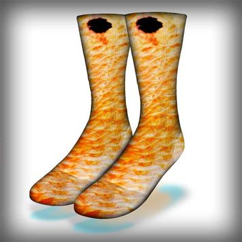 Redfish Crew Socks Novelty Streetwear