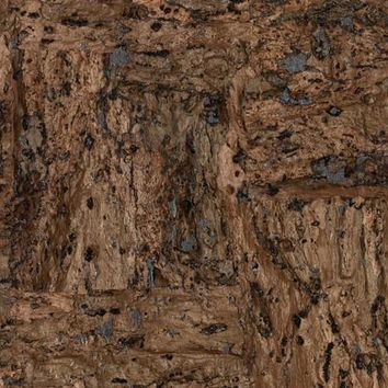 York CX1201 Candice Olson Dimensional Surfaces Cork on Metallic Wallpaper