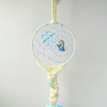 Disney Frozen Elsa dream catcher, Disney Princess dreamcatcher