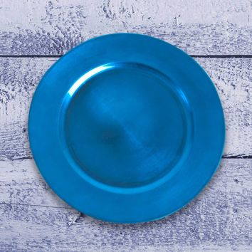 Amiltola Charger Plate in Cobalt Blue | Set of 4