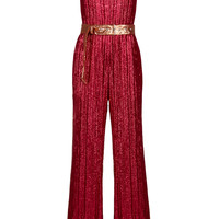 Sequin Embroiderd Jumpsuit | Moda Operandi