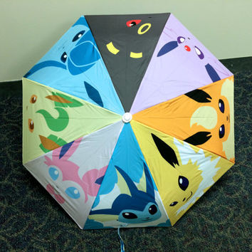 Pokemon Eeveelution Umbrella