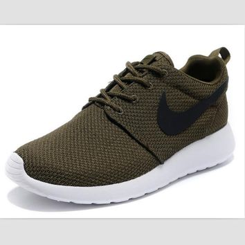 NIKE fashion network sports shoes casual shoes Military green