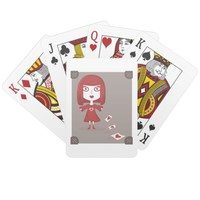Red Queen Playing Cards