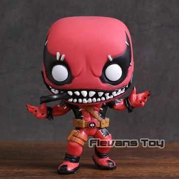 Deadpool Dead pool Taco Marvel Contest of Champions Venompool  #300 Vinyl Figure Doll Collecton Model with Box AT_70_6