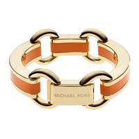 Michael Kors Link Bracelet, Golden/Orange - Michael Kors