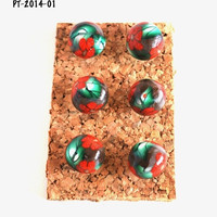 On Sale Red Flower Giant Pushpins Thumbtacks for Bulletin Board Cork Boards