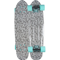 Diamond Supply Co. Diamond Life Cruiser Skateboard Zebra One Size For Men 23628214801
