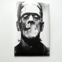 Light Switch Cover - Light Switch Plate Frankenstein