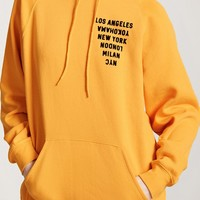 City Graphic Fleece Hoodie