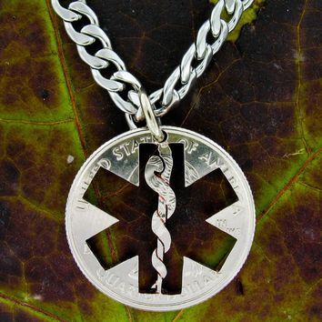 Nurse Necklace, Star Of Life