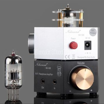 2017 Lastest Music Hall Nobsound NS-02E Class A 6N3 Vacuum Tube Headphone Amplifier Stereo HiFi Earphone Pre-Amp Free Shipping