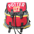 Harry Potter 07 Stripe Slouch Backpack