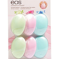 EOS Hand Lotion Variety Pack, Cucumber/Berry/Fresh Flowers, 6 Count