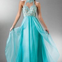 Flower Girl Dresses - Prom Dresses & Dama Dresses - Flower Girl Dresses Discount Cheap Designer Dressf - Blue Lace Sweetheart Pageant Prom Dress - Y7958