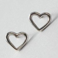 Heart Earring  Mix n' Match   words and symbols by HeartCoreDesign