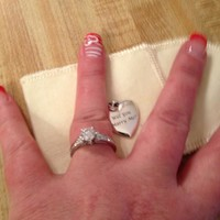 Smooth Engravable Heart Charm   James Avery