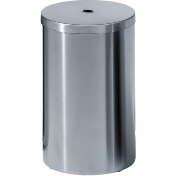 DWBA Round Trash Can, Stainless Steel Wastebasket W/ Lid Cover