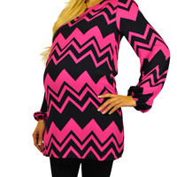 Long Sleeve Maternity Tops - At The Point