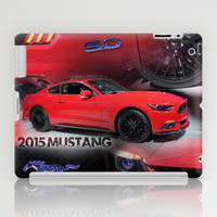 2015 Mustang 5.0 iPad Case by Andrew Sliwinski
