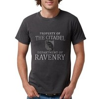 THE CITADEL Dept of Rave Mens Comfort Colors Shirt> Game Of Thrones Citadel Ravenry> Scarebaby Design