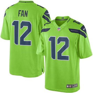 Seattle Seahawks  #12 THE 12TH MAN  Jersey - Limited Edition