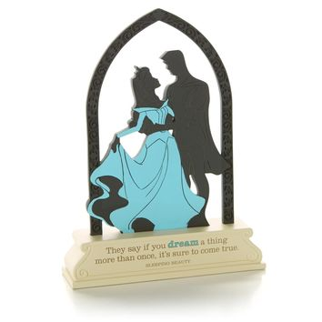 Sleeping Beauty Silhouette Cutout