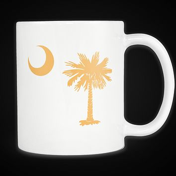 Palmetto Moon South Carolina Mug Gold