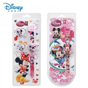 100% Genuine Disney Digital Watch For Kids Children Watches For Girls Boys Mickey Mouse Minnie Cinderella Sofia Digital Watch