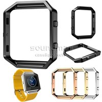 Fitbit Blaze Accessory watch Frame Holder for Fitbit Blaze Smart Watch modern stylish design Metal Frame with retail package