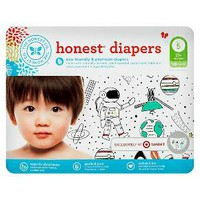 Honest Company Diapers Space Travel - Size 5 (50 Count)