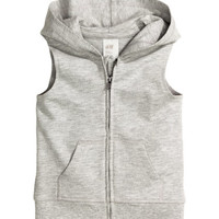 H&M Sleeveless Hooded Sweatshirt $14.99