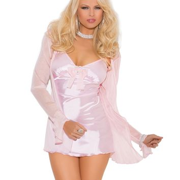 BABY DOLL, JACKET AND G-STRING