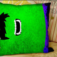 Simple Hulk Pattern - Pillow Cover and Pillow Case.