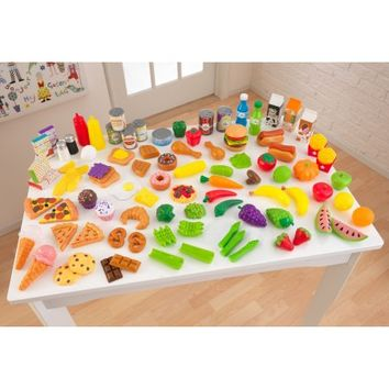 KidKraft Tasty Treats Pretend Play Food Set - 63330 - Walmart.com