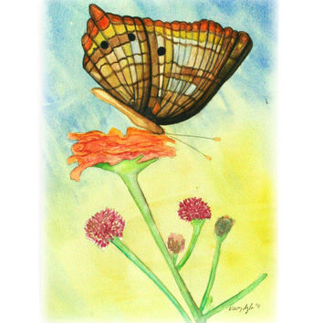 Butterfly – Print of an original Watercolor painting