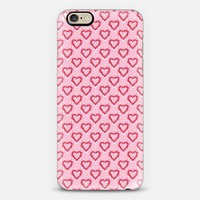 Be Still My Heart Pattern (sml hearts) iPhone 6s case by Lisa Argyropoulos | Casetify