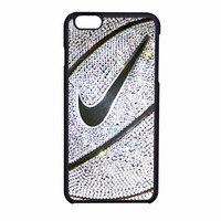 Nike Basket Ball Glitter Silver iPhone 6 Case