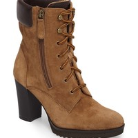 Johnston & Murphy Rochelle Lace-Up Boot (Women) | Nordstrom