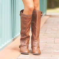 Outlaw Zipper Back Boots CLEARANCE