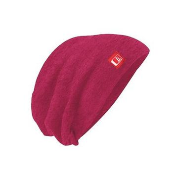 Slouch Beanie Bright Pink/Red